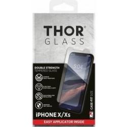 واقي الشاشة الزجاجي المقوى لآيفون إكس / إكس إس من ثور - شفاف (33550)