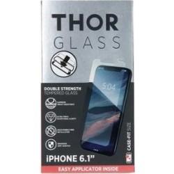واقي الشاشة الزجاجي المقوى لآيفون إكس آر من ثور - شفاف (33554)