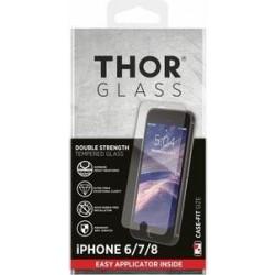 واقي الشاشة الزجاجي المقوى لآيفون ٨ / ٧ / ٦ إس / ٦ من ثور - شفاف (33738)