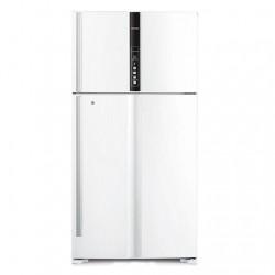 Hitachi 33 CFT Top Mount Refrigerator (R-V990PK1K) - White