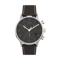 Timex 40mm Chronograph Leather Strap Watch - (TW2T71500)