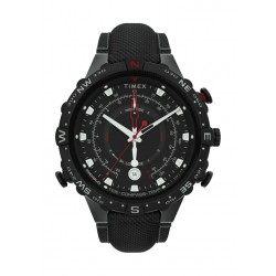 Timex 45mm Gent's Chronograph Fabric Strap Watch - (TW2T76400)
