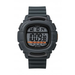 Timex BST.47 47mm Gent's Rubber Strap Digital Watch (TW5M26700) - Dark Grey