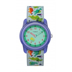 Timex 28mm Kids Unisex Analog Fashion Textile Strap Watch - (TW7C77300)