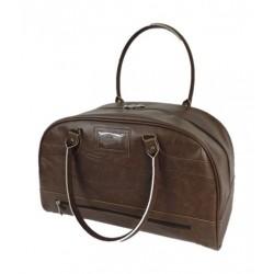 حقيبة يد جلدية من تايمكس - بني (TWG017300)