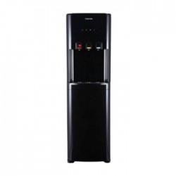 موزع المياه العادية, الباردة والساخنة العامودي بتخزين سفلي من توشيبا - (RWF-W1615BU(K))- - أسود