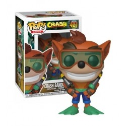 FUNKO POP! Games: Crash Bandicoot S2 - Crash Scuba