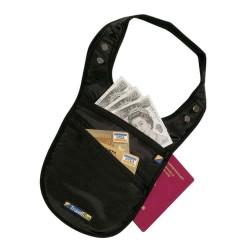 Travel Blue Security Shoulder Holster Wallet - Black