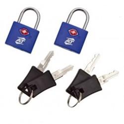 قفل حقيبة تي إس إيه من أميريكان توريستر - أزرق