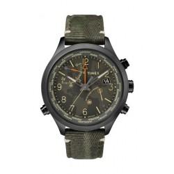ساعة تايمكس إنتلجينت ووتر بيري - عرض تناظري من الكوارتز - للرجال - أسود - (TW2R43200)