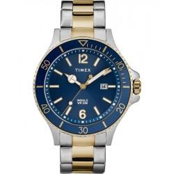 ساعة تايمكس هاربور سايد ٤٢ ملم رجالية عرض تناظري و سوار معدني (TW2R64700)