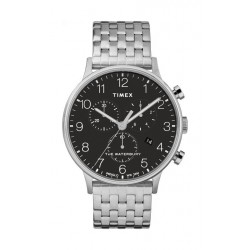 Timex Waterbury Classic 40mm Chronograph Gent's Stainless Steel Watch - TW2R71900