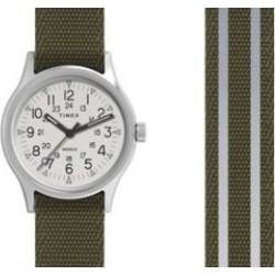 ساعة تايمكس كور كامبر ٤٠ ملم رجالية عرض تناظري و سوار من النايلون (TW2R80900)