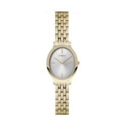 Timex Milano Oval 24mm Ladies Stainless Steel Watch - TW2R94100