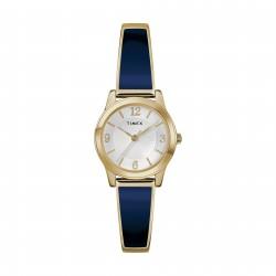 ساعة تايمكس النسائية بعرض تناظري - ٢٥ ملم مع حزام معدني (TW2R98500)