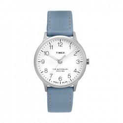 ساعة تايمكس ووتر بيري ٣٦ ملم النسائية سوار جلدي (TW2T27200)