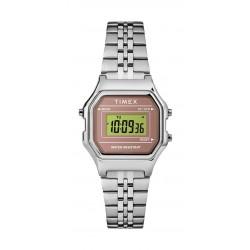 ساعة تايمكس رقمي للنساء بعرض تناظري - ٢٧ ملم - (TW2T48500)