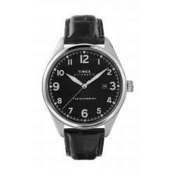 Timex 42mm Gent's Analog Leather Watch - (TW2T69600)