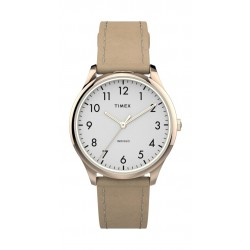 Timex 32mm Ladies Analog Leather Watch - (TW2T72400)