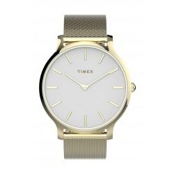 Timex 38mm Ladie's Analog Metal Watch - (TW2T74100)