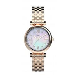 Timex 28mm Ladie's Analog Metal Watch - (TW2T78800)