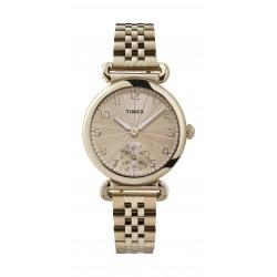 Timex 33mm Ladies Analog Metal Watch - (TW2T88600)