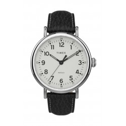 Timex 43mm Gent's Analog Leather Watch - (TW2T90900)