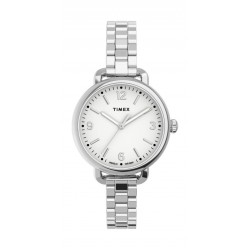 Timex Essential Collection 26mm Indiglo Ladies Automatic Metal Watch - (TW2U60300)