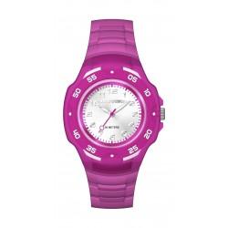 ساعة تايمكس ماراثون النسائية بعرض تناظري – سوار مطاطي (TW5M06600)