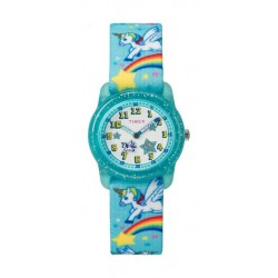 Timex Kids Analog 28mm Elastic Fabric Strap Watch - TW7C25600 a