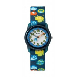 Timex Kids Analog 28mm Elastic Fabric Strap Watch - TW7C25800 a