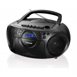 نظام موسيقي مدمج بصوت ستيريو قوة ١٣ واط من توشيبا – منفذ يو إس بي - تسجيل كاسيت راديو – مُشغل سي دي (TY-CKU310)