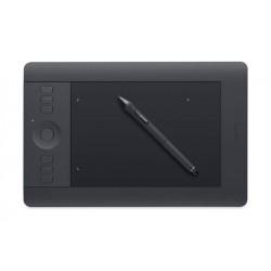 تابلت رسم الجرافيكس واكوم إنتوس برو مع قلم (صغير) - أسود