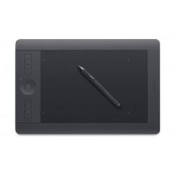 تابلت رسم الجرافيكس واكوم إنتوس برو مع قلم (كبير) - أسود