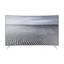 تلفزيون سامسونج إل إي دي ذكي فائق الوضوح سوبر منحني 55 بوصة - UA55KS8500