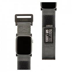 UAG apple watch strap dark grey nylon thick 44mm/42mm buy in xcite Kuwait