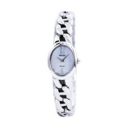 ساعة سيكو للنساء كوارتز بعرض تناظري - فضي  (UP321P)