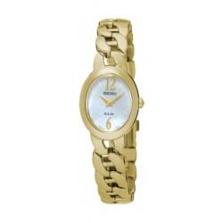Seiko UP322P Ladies Analog Watch - Metal Strap – Gold