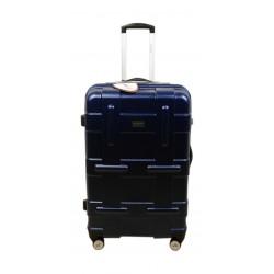 حقيبة سفر صلبة يو إس بولو - ٥٥ سم - أزرق (PLVLZ7514C)