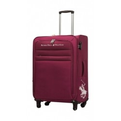 US Polo Optima Medium Soft Luggage - Red