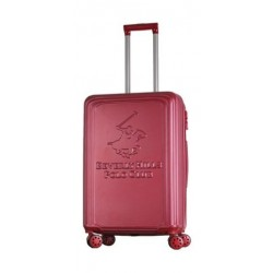 US POLO Paco Hard Trolley Luggage - Small/Red