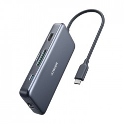 Anker PowerExpand+ 7-in-1 USB-C PD Ethernet Hub Price in Kuwait | Buy Online – Xcite