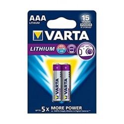 Varta AAA Lithium Battery - 2 pcs