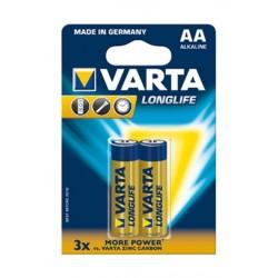 Varta LL2 AA Alkhaline Battery - 2Pcs