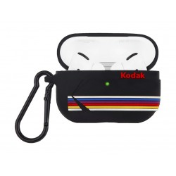 Casemate Kodak Striped AirPods Pro Case (CM-CM041858) - Black