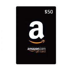 Amazon US Gift Card (USD 50)