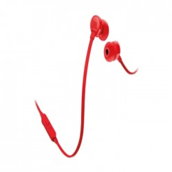 JBL Tune 110 Wired In-Ear Earphones - Red