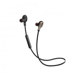 سماعات الاذن المغناطيسية اللاسلكية من بروميت (Vitally-4) - اسود