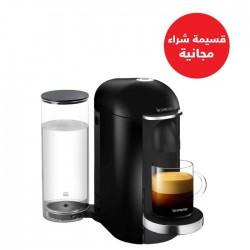 ماكينة القهوة من نسبرسو فيرتو بلس و ماكينة إسبرسو(GCB2-GB-BK-NE1) - أسود + قسيمة شراء مجانية