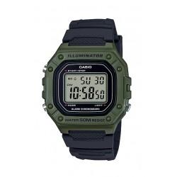 Casio 43mm Gent's Resin Digital Sports Watch - (W-218H-3AVDF)